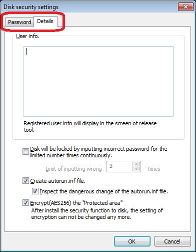 New function(Ver 4) | KASHU-USB Flash Security